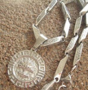Lant +medalion INOX  ( otel inoxidabil ) cod mihasem397