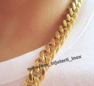 Lant   INOX  placat  ( otel inoxidabil ) cod mihasem388