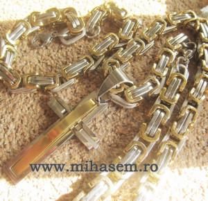 Lant +medalion+bratara INOX  ( otel inoxidabil ) cod mihasem454