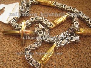 Lant +medalion INOX  ( otel inoxidabil ) cod mihasem087