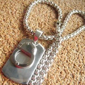 Lant+medalion INOX   ( otel inoxidabil ) cod mihasem508