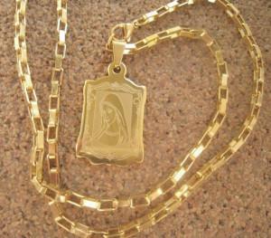 Lant +medalion INOX ( otel inoxidabil ) cod mihasem640
