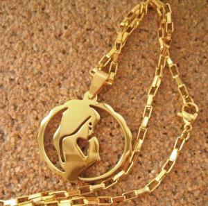 Lant +medalion INOX ( otel inoxidabil ) cod mihasem679