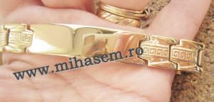 Bratara  INOX  ( otel inoxidabil ) cod mihasem339