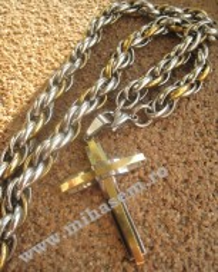 Lant +medalion INOX  ( otel inoxidabil ) cod mihasem181