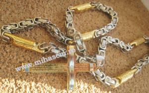 Lant +medalion INOX ( otel inoxidabil ) cod mihasem305