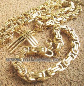 SET Lant +medalion+bratara INOX ( otel inoxidabil ) cod mihasem455