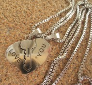 2 Lanturi +medalion   INOX ( otel inoxidabil ) cod mihasem606