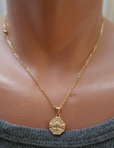 Lant dama +medalion INOX ( otel inoxidabil ) cod mihasem601
