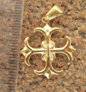 Lant dama +medalion INOX ( otel inoxidabil ) cod mihasem671