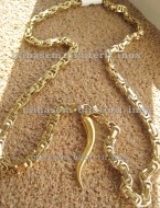 Lant +medalion inox ( otel inoxidabil ) cod mihasem111