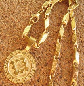 Lant +medalion INOX ( otel inoxidabil ) cod mihasem157