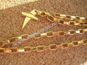 Lant +medalion  INOX  ( otel inoxidabil ) cod mihasem234