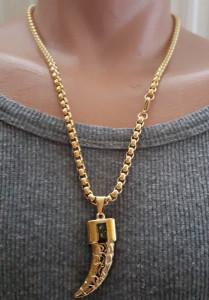 Lant +medalion INOX ( otel inoxidabil ) cod mihasem675