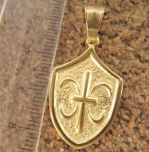 Medalion INOX  ( otel inoxidabil ) cod mihasem665