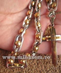 Lant +medalion INOX  ( otel inoxidabil ) cod mihasem237