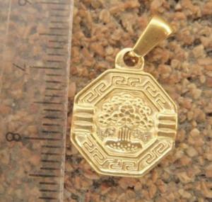 Medalion INOX  ( otel inoxidabil ) cod mihasem666