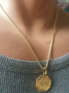 Lant+medalion INOX dama cod mihasem766