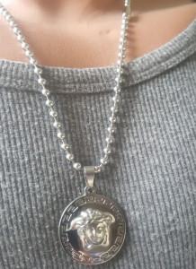 Lant+medalion INOX ( otel inoxidabil ) cod mihasem162