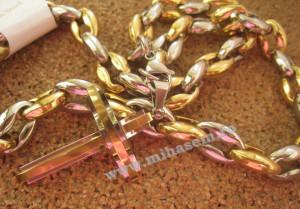 Lant +medalion INOX ( otel inoxidabil ) cod mihasem210