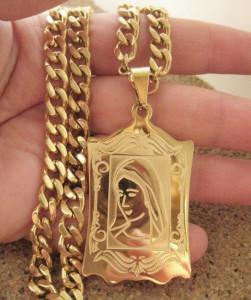 Lant +medalion INOX ( otel inoxidabil ) cod mihasem680