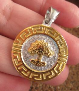 Medalion INOX  ( otel inoxidabil ) cod mihasem349