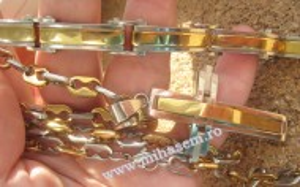SET Lant +medalion +bratara INOX  ( otel inoxidabil ) cod mihasem304