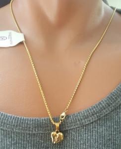 Lant dama +medalion INOX ( otel inoxidabil ) cod mihasem674