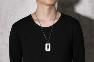Lant +medalion INOX ( otel inoxidabil ) cod mihasem745