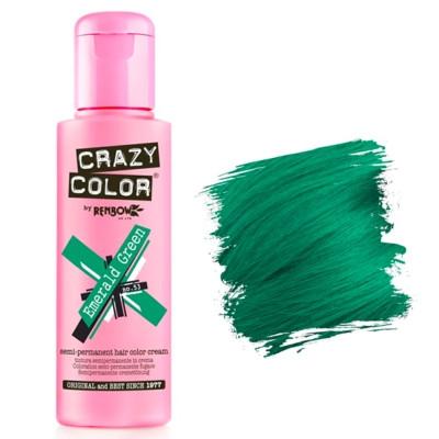 Crazy Color 53 emerald green 100 ml