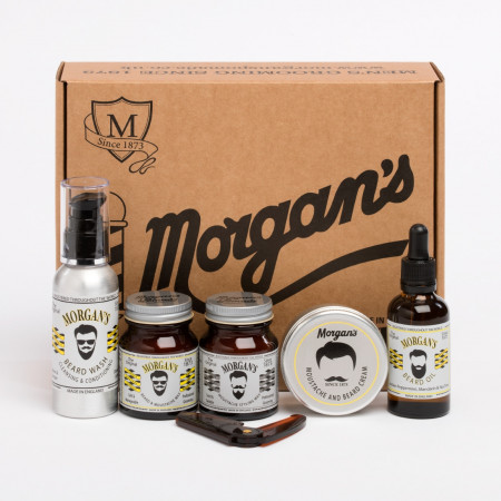 Morgan's beard gift set