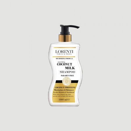 Lorenti coconut & milk shampoo 1000 ml