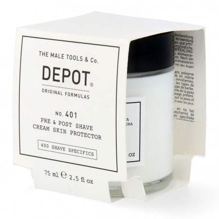 Depot pre&post shave cream skin protector 75 ml