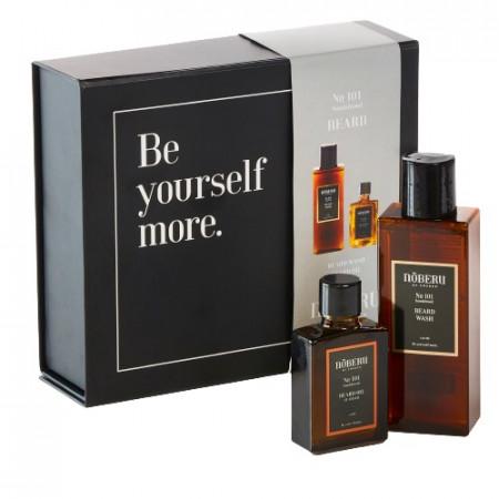 Noberu giftbox beard sandalwood ( beard oil & beard wash )