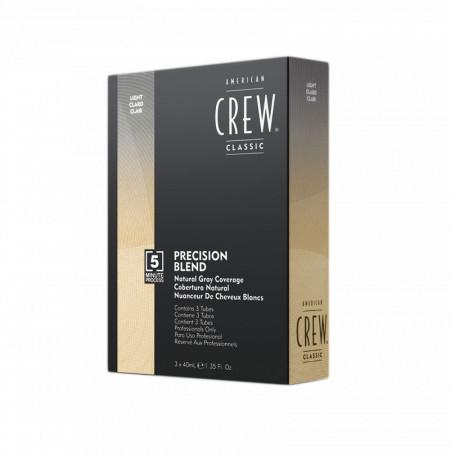 American CREW PRECISION BLEND LIGHT 40ml (x3)