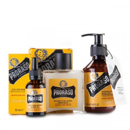 Proraso Beard Care Set WOOD & SPICE