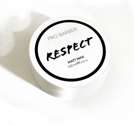 Pro Barber Respect Matt Wax 100 ml