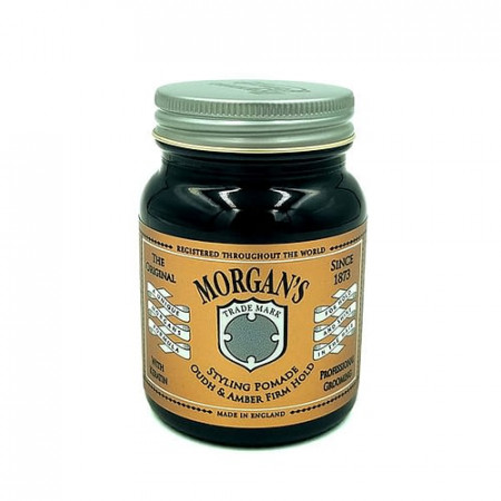 Morgan's oudh amber firm pomade 100 ml