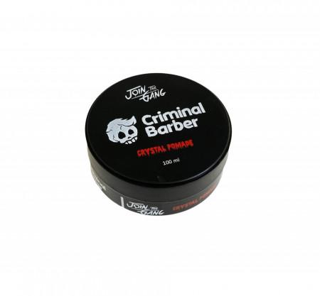 Criminal Barber Crystal Pomade 100 ml - wet look