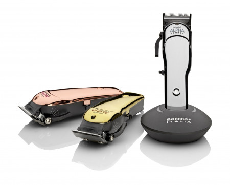 Gamma CLIPPER ABSOLUTE ALPHA CHROME + 2 EXTRA COVERS