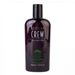 American CREW 3IN1 TEA TREE 450ml