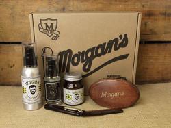 Morgan's moustache & beard gift set