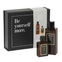 Noberu giftbox beard tobacco Vanilla ( beard oil & beard wash )