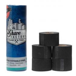 TSF black neck paper 5 x 100 - gulere de tuns negre