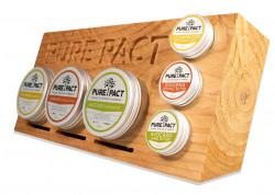 Pure Pact cedarwood 80 ml - clay cu fixare puternica, aspect mat, perfect pt frizuri creative