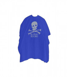 Bluebeards Barber Cape - pelerine de tuns albastre