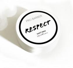 Pro Barber Respect Matt Wax 100 ml - Cheia 1 este Respect