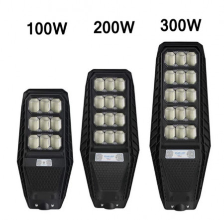 LAMPA SOLARA STRADALA 100/200/300W