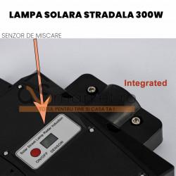 LAMPA SOLARA STRADALA DUBLA 300W