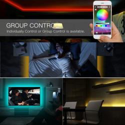 BANDA LED COLOR 2M - CONTROLER SMARTPHONE